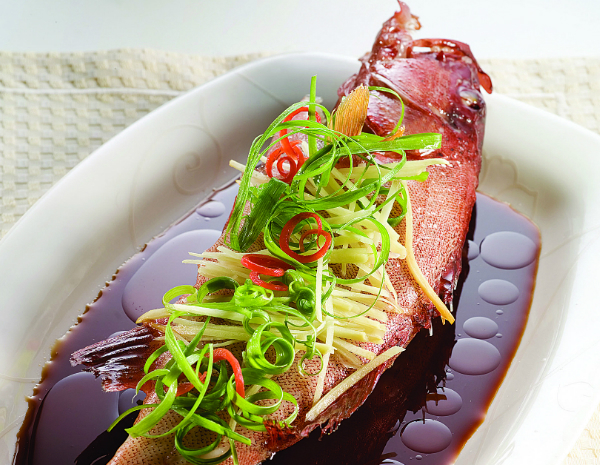 Steamed Fish in Double Fermented Soy Sauce