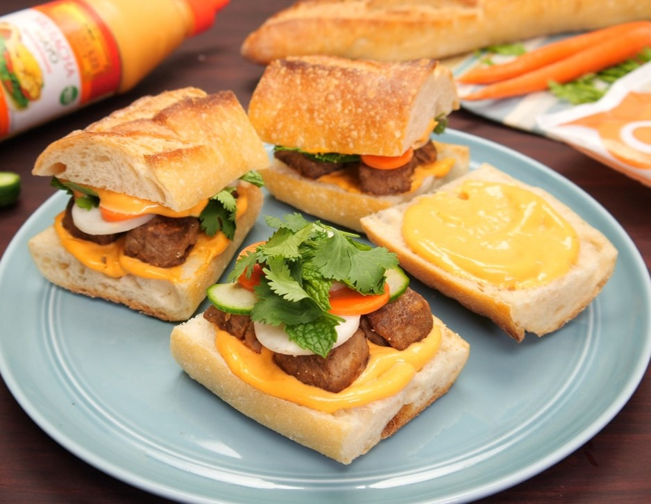 Banh Mi Meatball Sliders Meatless New