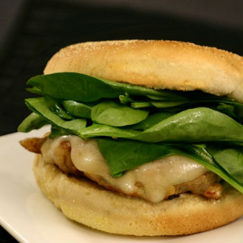 Recipe Chicken and Basil Burger