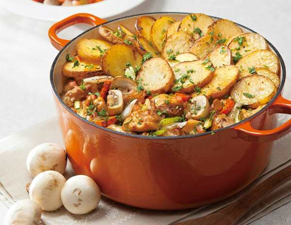 Chicken Hot Pot