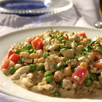 Recipe Creamy Minced Chicken