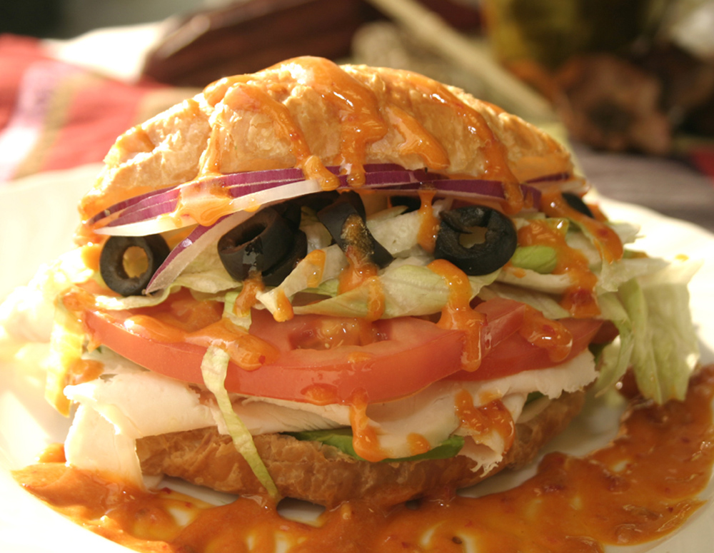 Recipe Croissant Turkey Sandwich