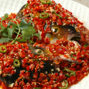 Recipe Fish Head with Chopped Chili S