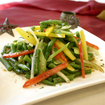 Recipe French Baby Green Bean Salad with Premium Soy Vinaigrette S