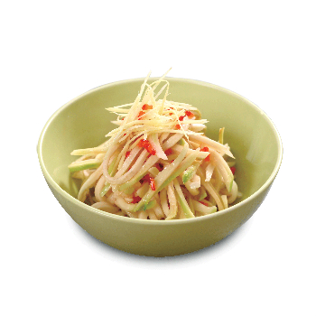 Recipe Green Papaya with Sodium Reduced Seasoned Soy Sauce
