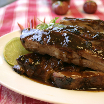 Recipe Grilled Beef Ribs with korean Barbecue Sauce