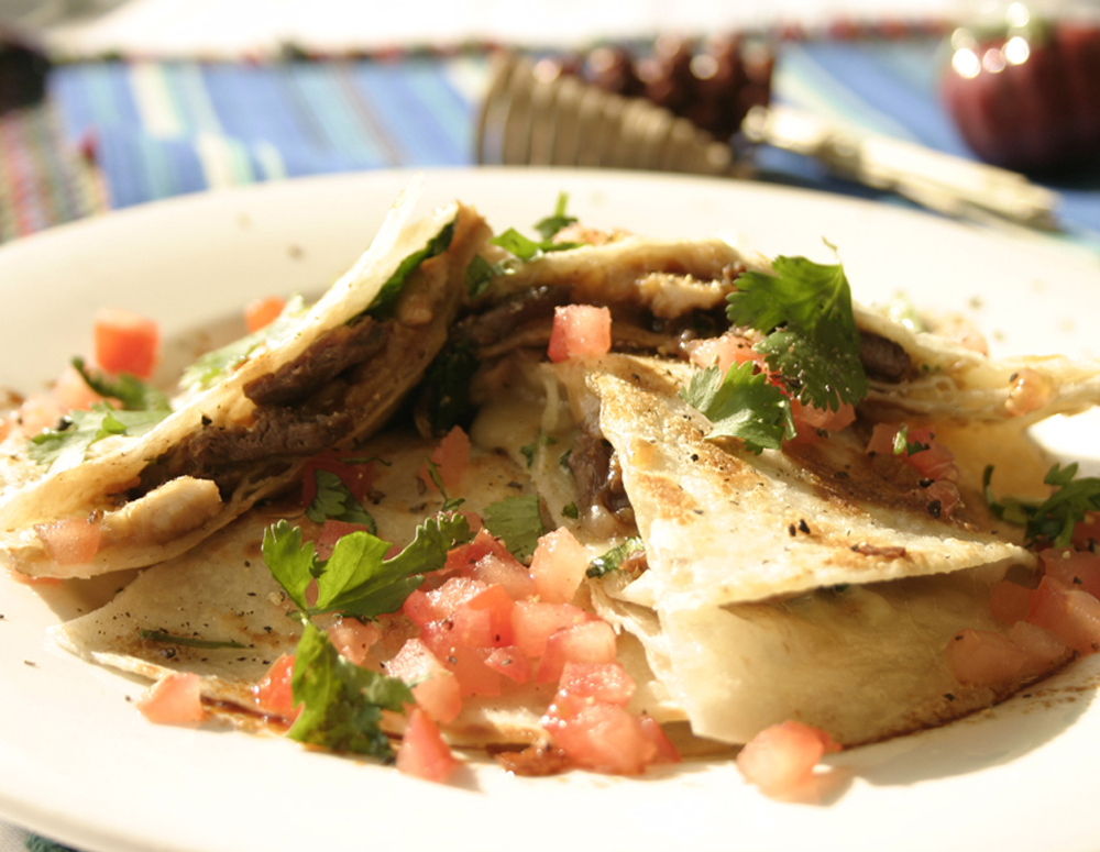 Recipe Hoisin Beef Quesadilla