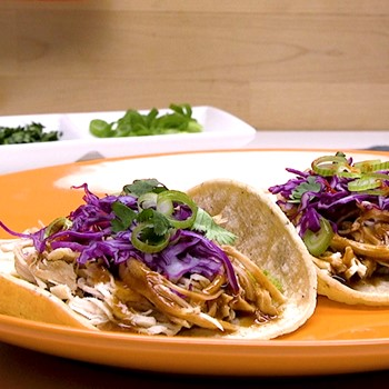 Hoisin Chicken Tacos