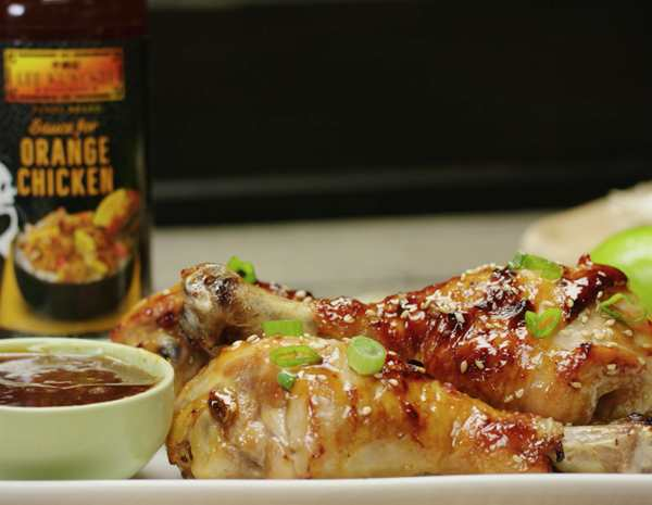 Recipe Orange Chicken Drumsticks