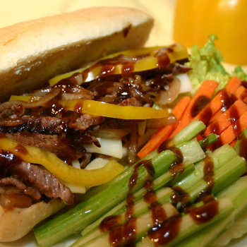 Recipe Philly Steak with Hoisin Sauce