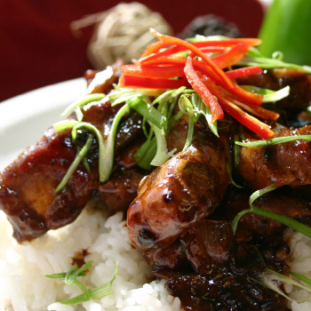 Recipe Pork Riblets with Honey Flavored Black Bean Garlic Sauce
