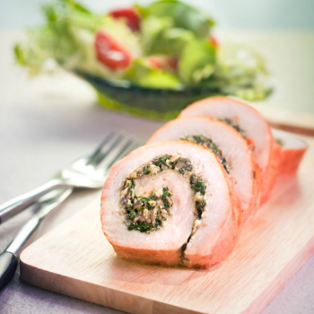 Recipe Roasted Stuffed Turkey Roll S