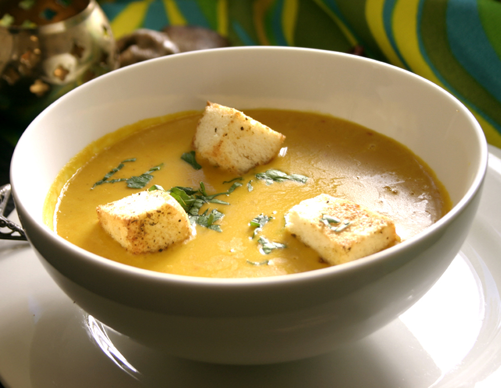 Recipe Spicy Squash Soup