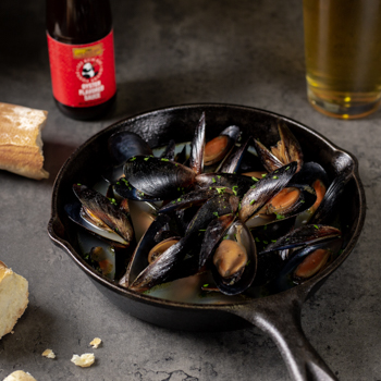 Recipe Steamed Mussels with Garlic and Beer S