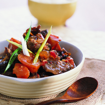 Recipe Stewed Beef with Soybean Sauce