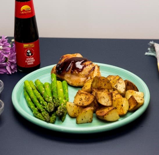 Recipe Sweet Lime and Oyster Sauce Backed Chicken Thighs S