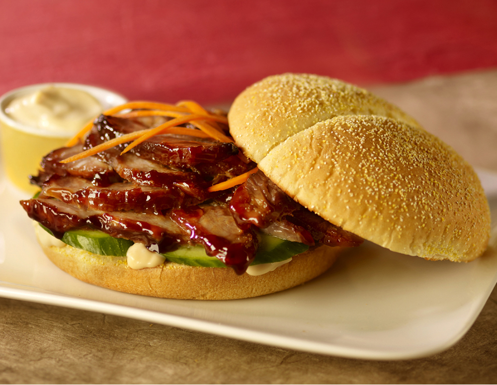 Recipe Sweet Pulled Pork Sandwich with Lee Kum Kee Hoisin Sauce