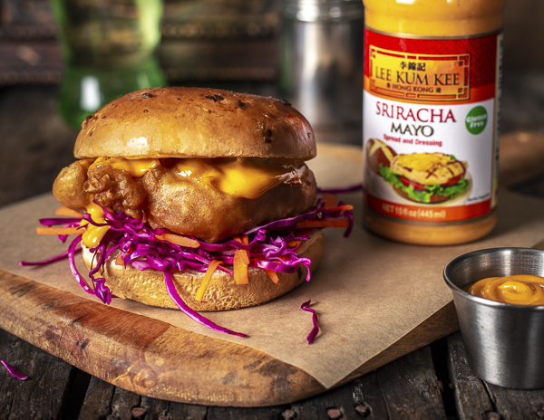 Recipe Tempura Fried Chicken Sandwich