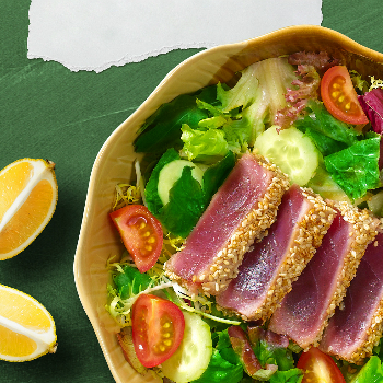 Recipe Tuna Salad with Oyster Sauce Dressing S