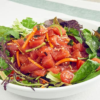 Recipe Tuna Poke Salad S